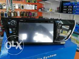 2016 Toyota corolla LCD Car dvd player with GPS