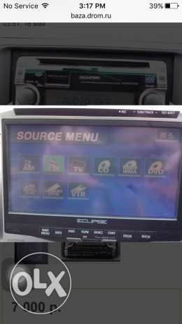 ECLIPSE(Japan) car DVD player for sale السيب -  2