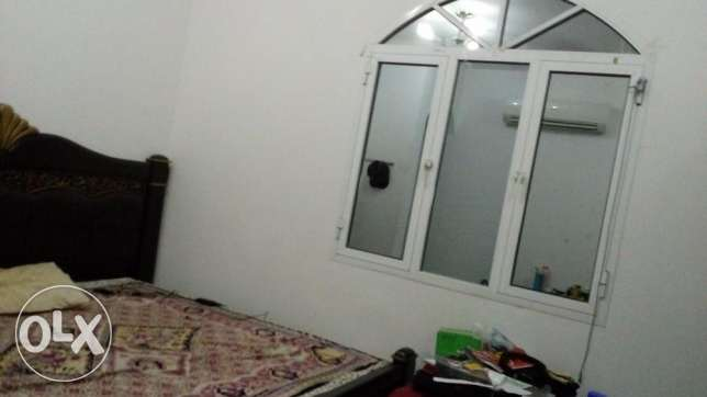 Room with attached bathroom &separate Kitchen for rent in Villa-Azaiba مسقط -  1