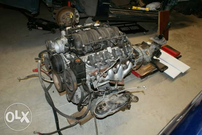 Ls1 engine with t56 transmission