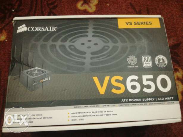 CORSAIR power supply VS650 WATT