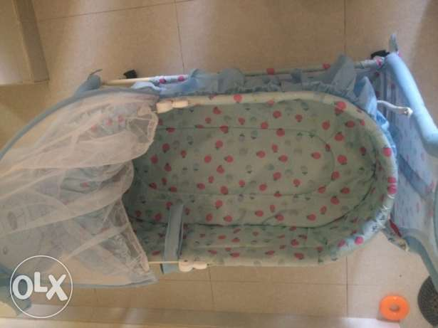 new baby cradle for sale,only one month used السيب -  7