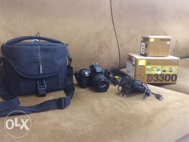 Nikon camera D3300 used for one week only very excellent condition