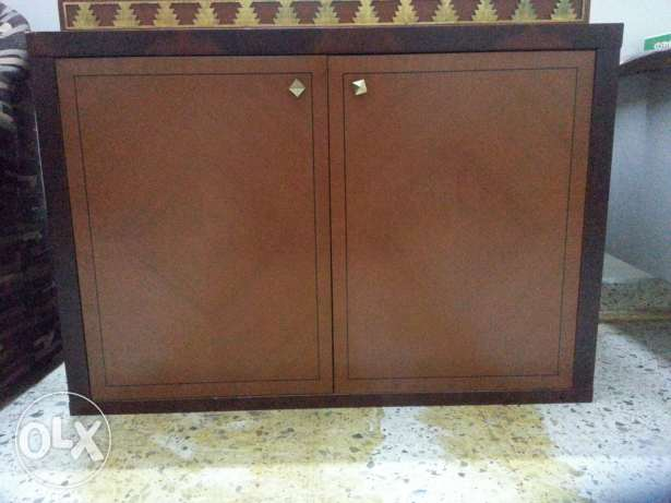 Decorative cupboard table