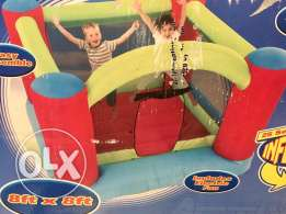 Bouncy Castle - inflates in minutes great fun.