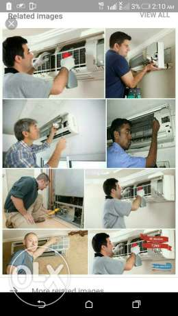 Contact for all kind of air conditioner works(split,window,cassed Ac)