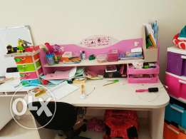 Bedroom for girls with storage in great condition because moving