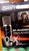 mic condenser M-audio USB