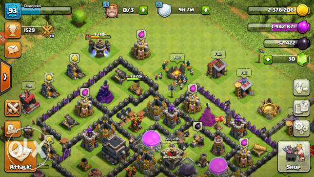 Clash of clans - th9
