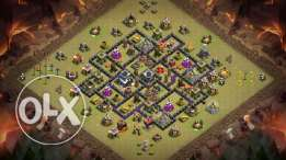 TH9 Clash of Clans