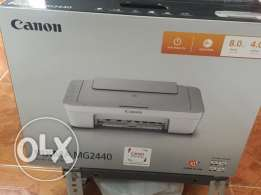 offer offer new canon2440 inkjet printer 3in1 scan+copy+print only 15