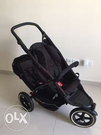 Stroller double Phil&Ted مسقط -  4