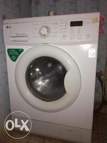 LG washing machine in a good condition