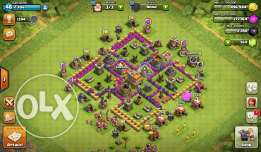 Clash of clan (level 7)