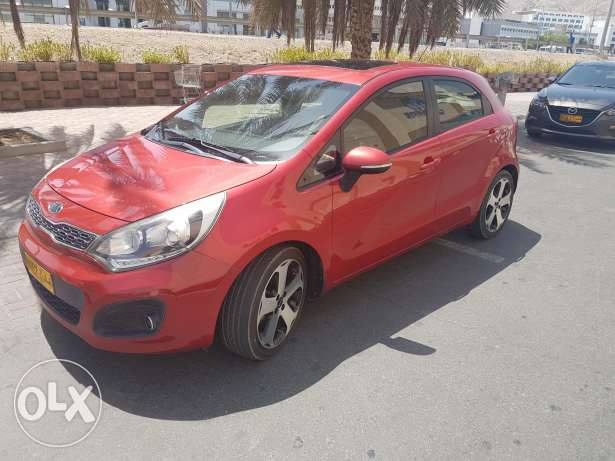 kia rio full auto free accident model Nu 01 model 2012