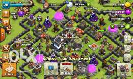 TH9 max clash of clan id just dont max wal or all max
