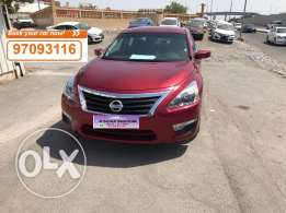 Nissan Altima 2017 daily rent Nissan Altima 2017 location : Muscat