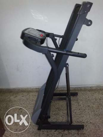 Tread Mill with Time, Speed,Distance,Calories,Pulse, Body Fat & slope روي -  2