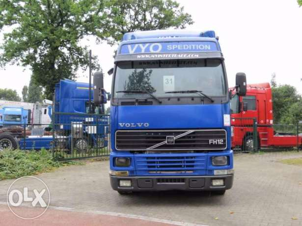 VOLVO FH12 420 MANUAL (SPRING/AIR) tractor unit