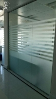 Interior Design & Decor..Office Furnitures..Glass Works & Partitions