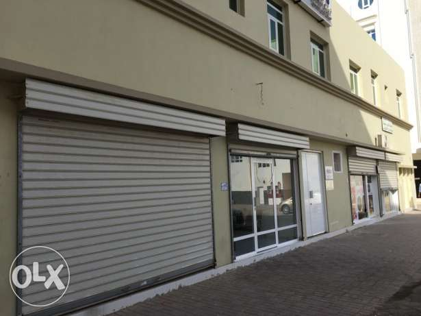 shop for rent near city center al mawalih السيب -  2