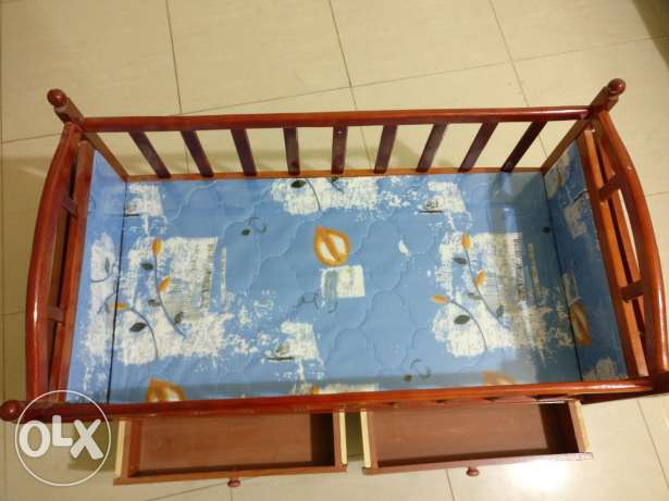 Rarely used crib for infants