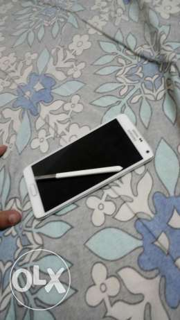 Samsung Galaxy Note 4 White مطرح -  1