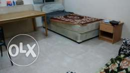 Furnished room with w. machine n equipped sharing kitchen in N Gubrah
