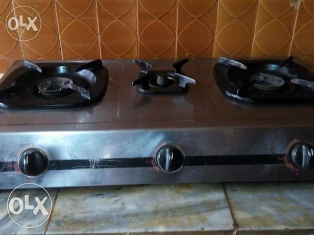 Gas stove with cylinder for urgent sale