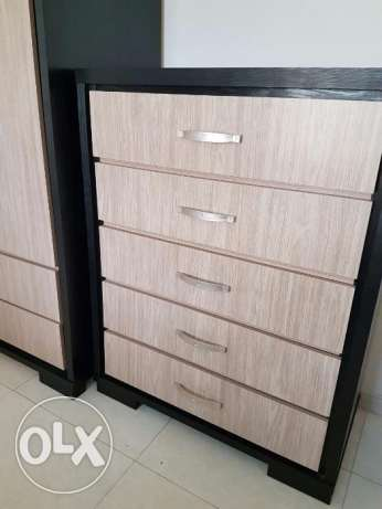 Chest of drawers مسقط -  1