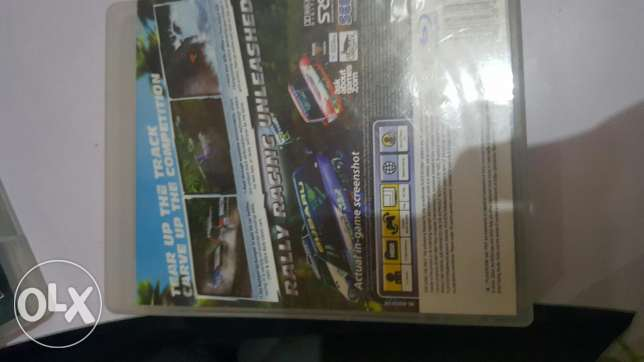 Sega rally cd بوشر -  2