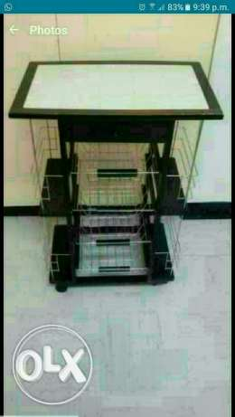 Kitchen trolly and air coller مسقط -  1