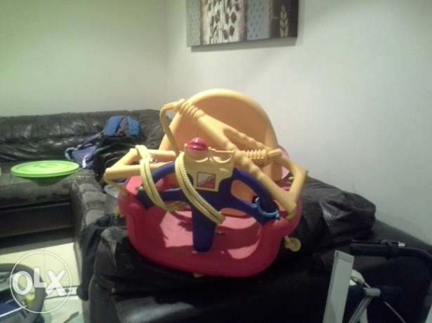 Juniors stroller and swing..( brought from centerpoint)