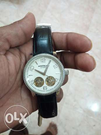Montblanc Watch for sale good condishn For sale