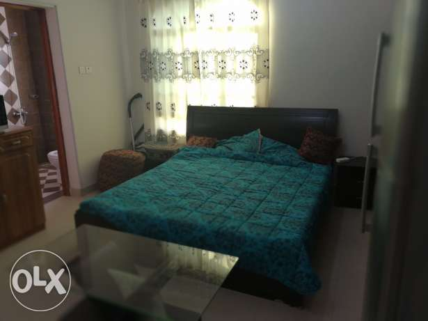 Different Fully Furnished Rooms and flats In (Al Ghubrah 18 November)