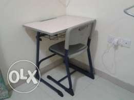 Study table and chair (laptop table and chair)