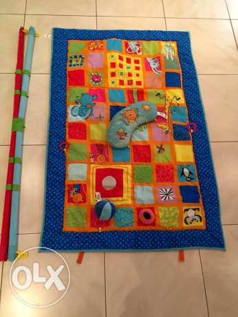 Activity Gym for babies, branded, large size, excellent condition مسقط -  1