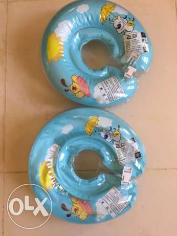 Swimming Ring for baby 0-1, 1-3years old,2 rial 1piece. New