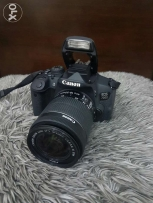 Canon 700D with 18-55 IS STM lens