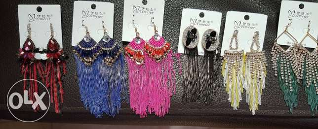WHOLESALE- jewelery- 12 pieces EAR RINGS