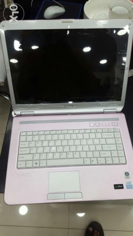 Sony vaio laptop pink color for sale nice condition السيب -  1