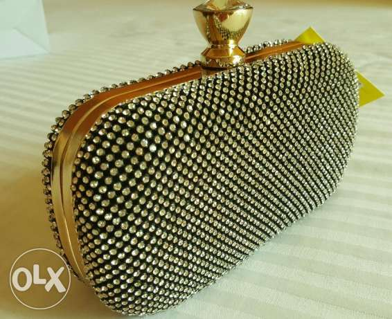 party purse with stone- SPECIAL OFFER