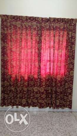 Ac and curtain for sale