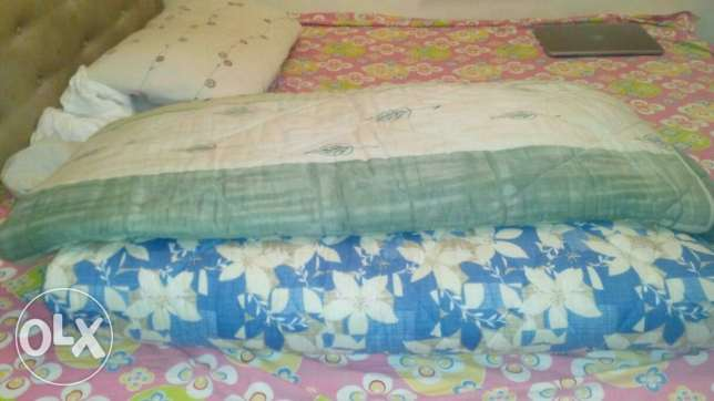 2 quilts king size مسقط -  1