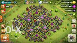 clash of clans village