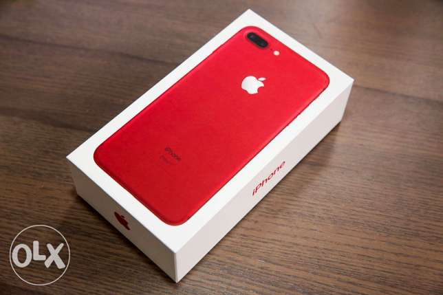 COLOR(RED) - iPhone 7 Plus 256GB (PRODUCT)RED Special Edition UNOPEN