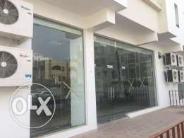 Showroom for rent in Al Khuwair Nr.Safeer Hotel 75 SqM, 100 SQM ,300 S
