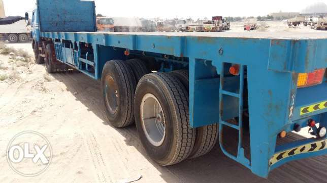 Heavy duty 40 ft trailer 2014 model jali and angles for sale 3700