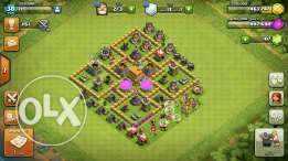 Clash of clanse قريه بيت 6 يروح 7