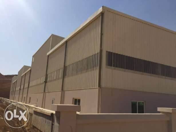 KA 237 Spacious Warehouses in RUSAYL for Rent مسقط -  4